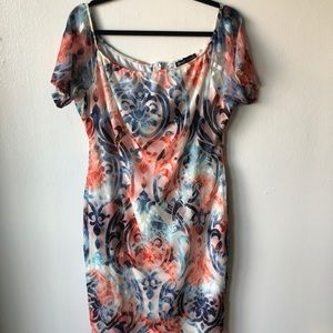 NWOT Fashion to figure off the shoulder dress 2X